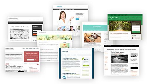 Enkele van mijn favoriete Genesis WordPress themes om mee te werken