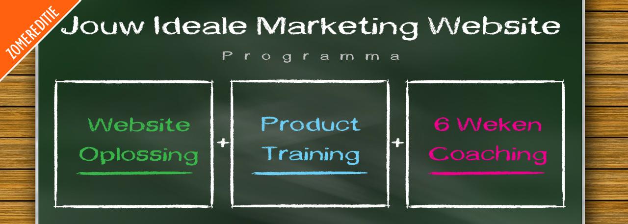 Jouw Ideale Marketing Website-programma