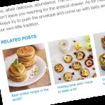 Toon Gerelateerde Blogartikelen Op je Website